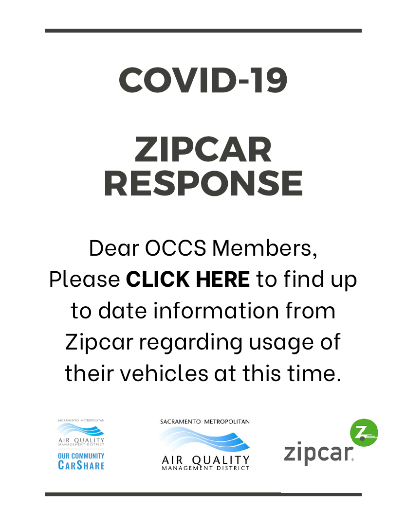 March 2020 Zipcar virus changes